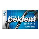 Chicles Spearmint X7 Beldent X 13.3 Grm