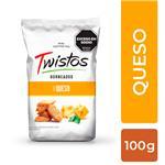 Mini Tostaditas Queso Twistos Paq 100 Grm