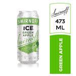 Aperitivo Ice Greenapple Smirnoff Lat 473 Ml