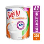 Leche E/Polvo Desc.0% Lactos Svelty Lat 370 Grm