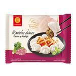 Ravioles Chinos Carne Y Acelga Fu Bao Paq 400 Grm