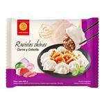 Ravioles Chinos Carne Y Ceboll Fu Bao Paq 400 Grm