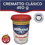 Queso Crema Crematto Milkaut Pot 450 Grm