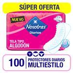 Protectores Diario Multiestilo Nosotras Paq 100 Uni