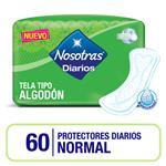 Protectores Diario Normal Nosotras Paq 60 Uni
