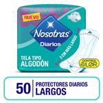 Protectores Diario Largos Nosotras Paq 50 Uni